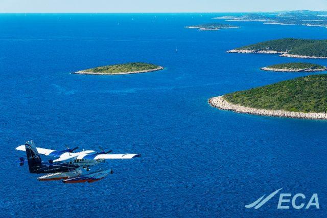 Hidroavioni od ponedjeljka lete iz Novalje za Rijeku