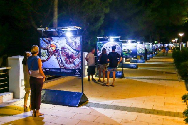 Na Velom Lošinju otvorena izložba Hrvatska iz zraka