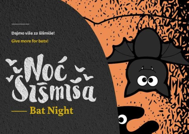 Noć šišmiša 2016. u NP Krka