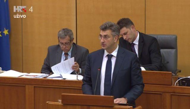 Plenković: Nova vlada s 19 ministarstava i 6 središnjih ureda