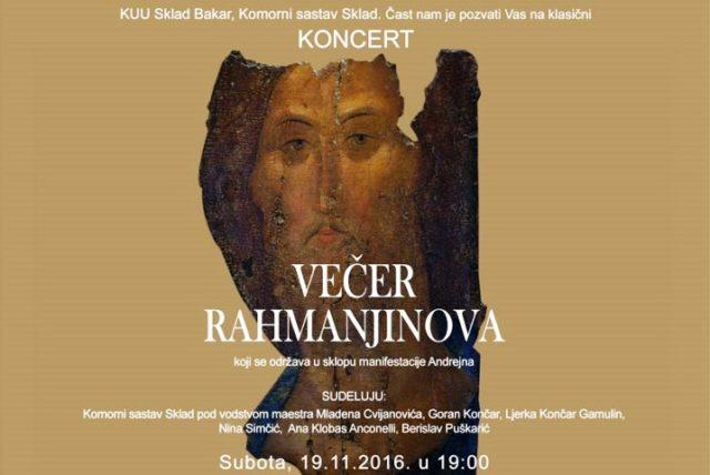Koncert klasične glazbe u sklopu manifestacije Andrejna
