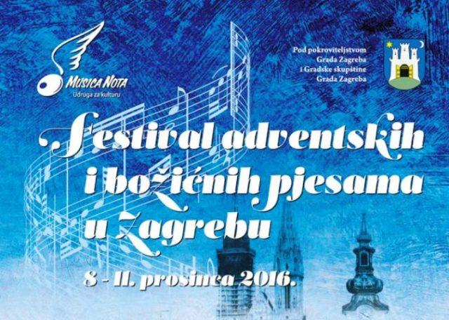 Festival adventskih i božićnih pjesama u Zagrebu