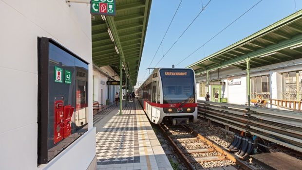 Im Rahmen der Generalsanierung der denkmalgeschützten Station wurde 2015 der Bahnsteig in Richtung Floridsdorf abgetragen und neu errichtet inkl. historischem Fliesenbelag und Blindenleitsystem. Auch das Bahnsteigdach uvm. wurde erneuert.