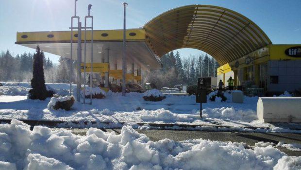 Gorski kotar, snijeg