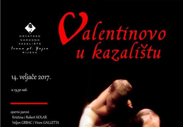 Valentinovo u kazalištu HNK Ivana pl. Zajca