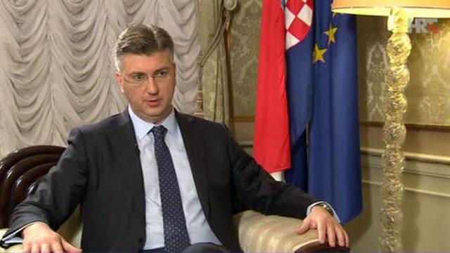 Plenković samostalno donio odluku, bez HDZovog dopuštenja