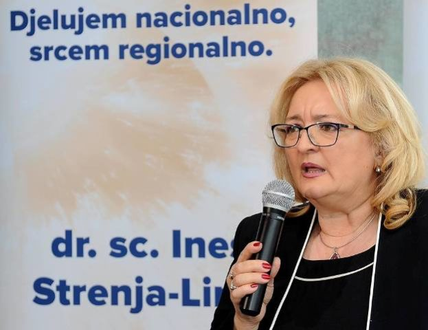 """Ines Strenja Linić """"rasturila"""" s potpisima"""