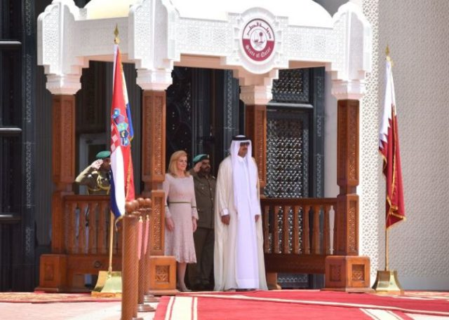 Katar : Predsjednica Kolinda konačno uspješna