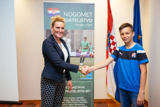 Nogomet za prijateljstvo – predstavnici Hrvatske u posjeti Janici Kostelić