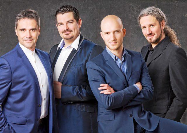 """Četiri tenora""u centru Gervais u Opatiji"