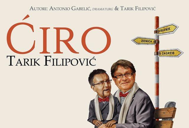 """Tarik Filipović ponovno igra """"Ćiru"""" 29.5. u Puli!"""