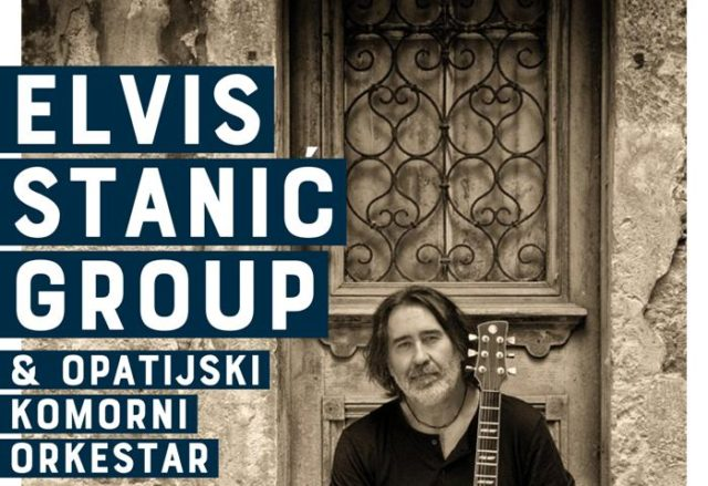 Koncert Elvisa Stanića u centru Gervias u Opatiji