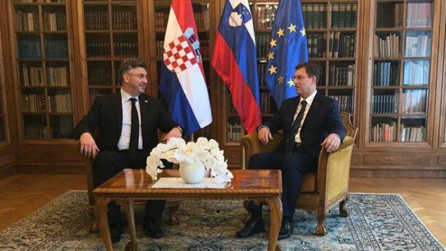 Plenković u veljači konačno rješava pitanje granice sa Slovenijom