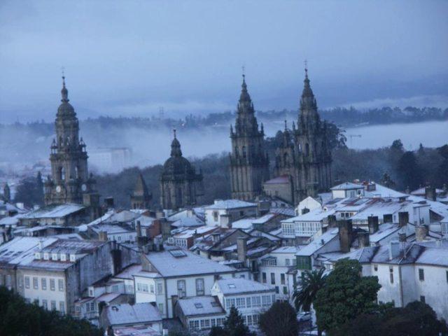 Snijeg iznenadio Santiago