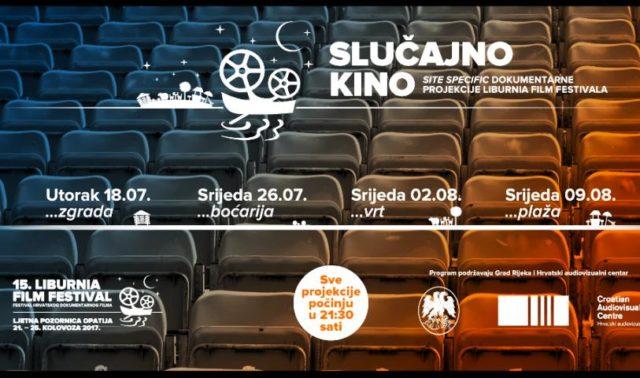 Slučajno kino ususret 15. Liburnia Film Festivalu