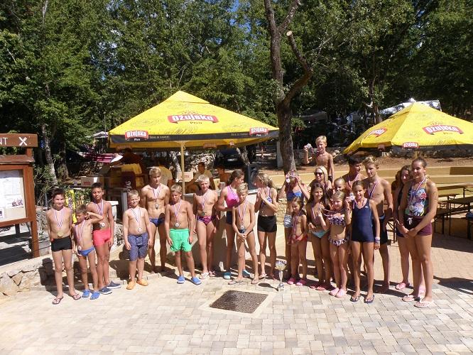 Održan 6. Dječji plivački maraton u kampu Glavotok
