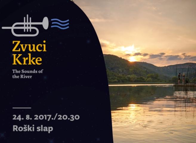 """Koncert Davora Radolfija na Roškome slapu u Nacionalnom parku """"Krka""""."""