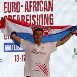 Lošinjan Daniel Gospić pobjednik 31. Euro – afričkog prvenstva u podvodnom ribolovu!
