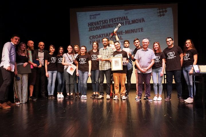 Održan 25. Hrvatski festival jednominutnih filmova