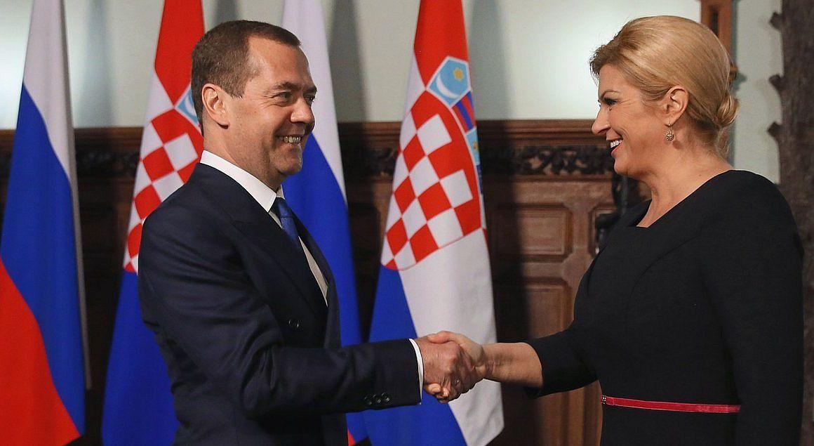 Predsjednica Hrvatske uspješna u Rusiji