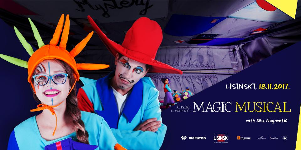 Magic Musical s Mijom Negovetić u centru Gervais, Opatija
