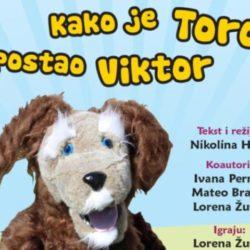 """Besplatna predstava """"Kako je Toro postao Viktor"""""""