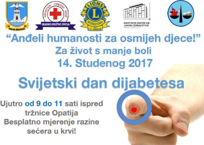 Svjetski dan dijabetesa u Opatiji