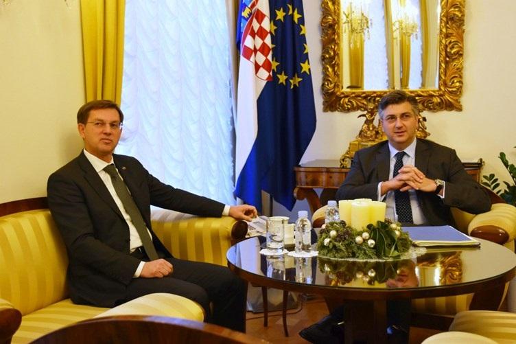 Hrvatska i Slovenija na istim stajalištima