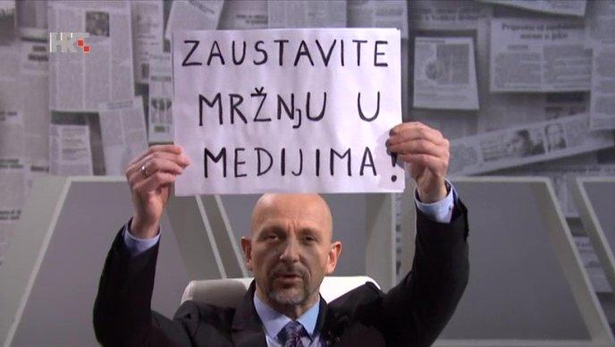 Čovjek koji je pitao premijera Hrvatske je li gay hoće mir u medijima
