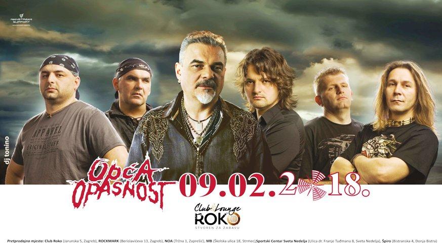 Opća Opasnost nakon godine dana ponovno u Zagrebu!