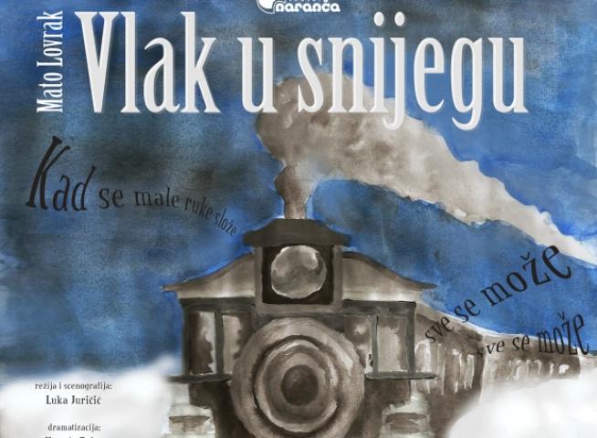 """Predstava """"Vlak u snijegu"""" u Opatiji"""