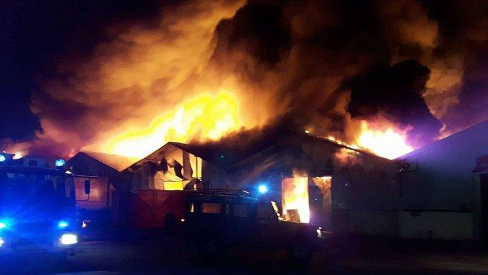 Veliki požar u Elgradu u Rijeci