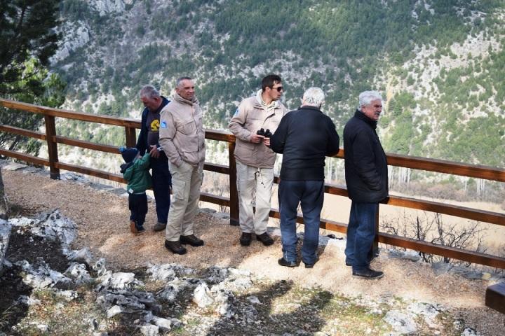Otvorena pješačka staza Goriš – Torak u NP Krka