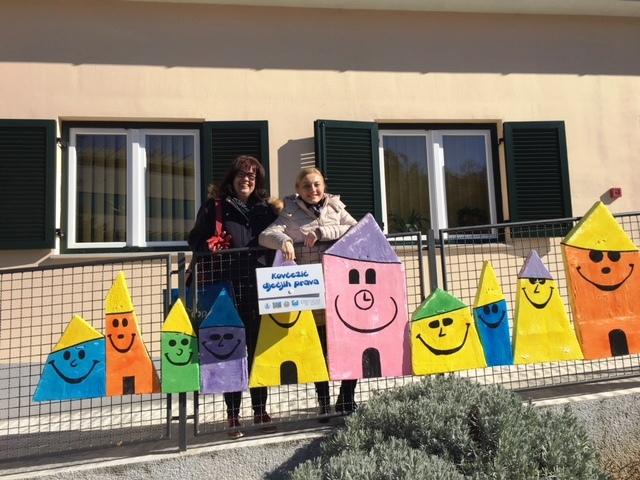 Europarlamentarka Marijana Petir na sjednici Dječjeg gradskog vijeća Grada Opatije
