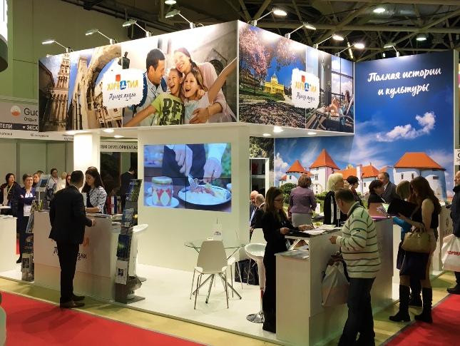 Hrvatska turistička zajednica na sajmu MITT u Moskvi