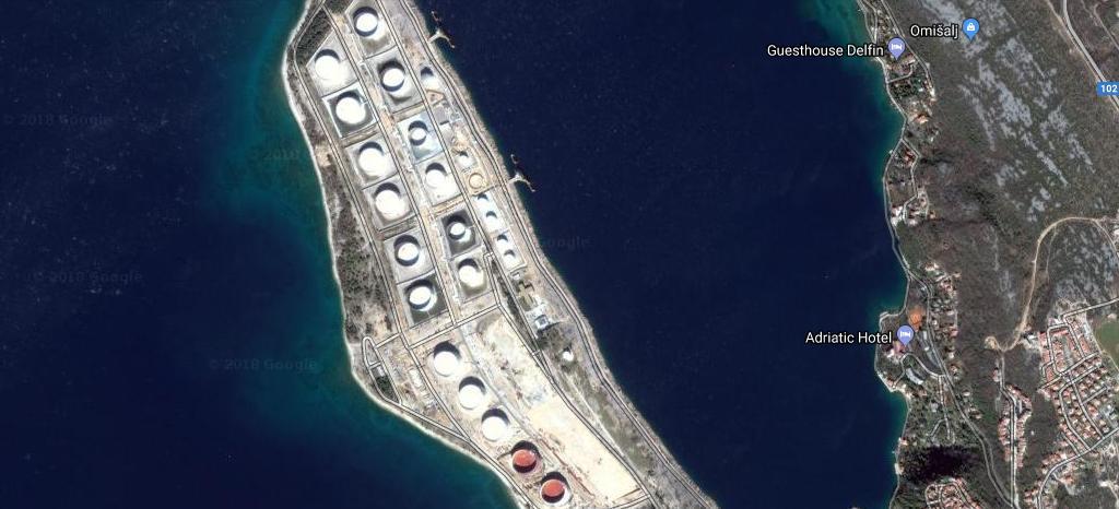 JANAF u rad pustio tri nova spremnika za naftu