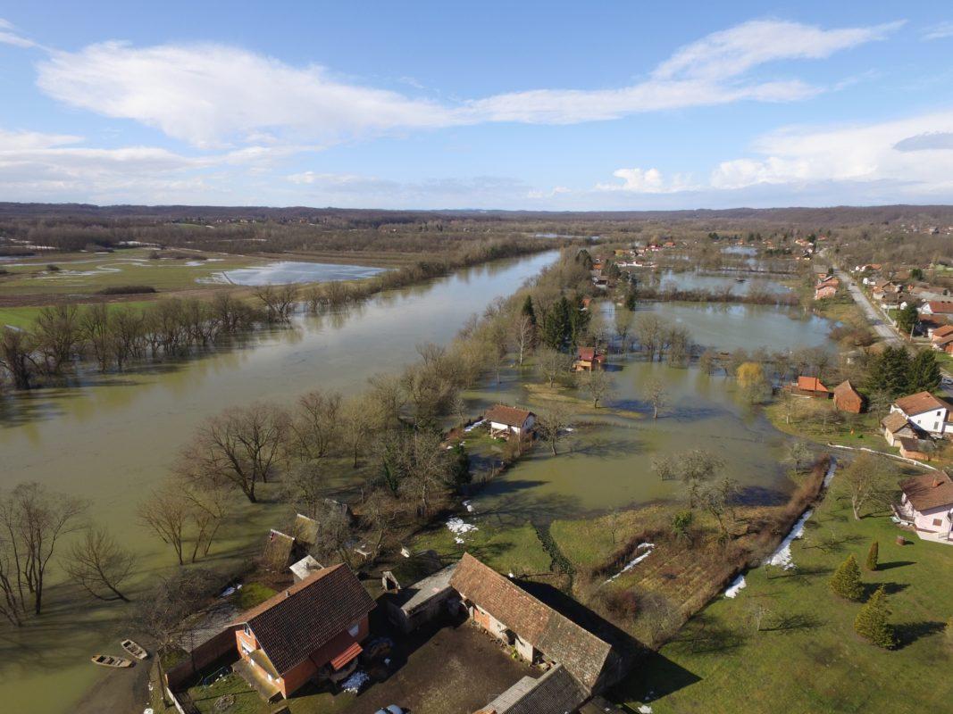 Ugrožene kuće od poplava