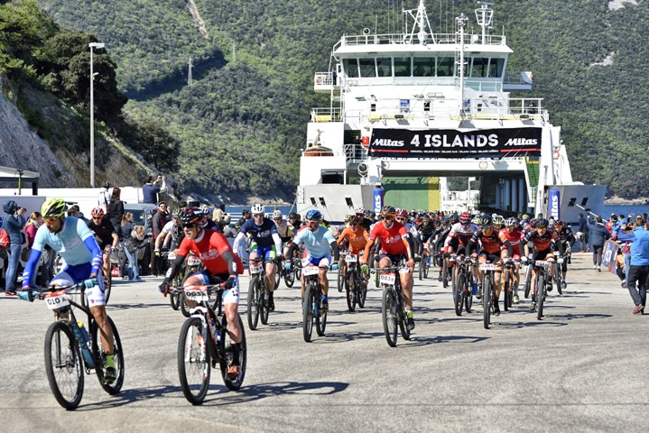 Mitas 4 Islands: Početak utrke na Krku