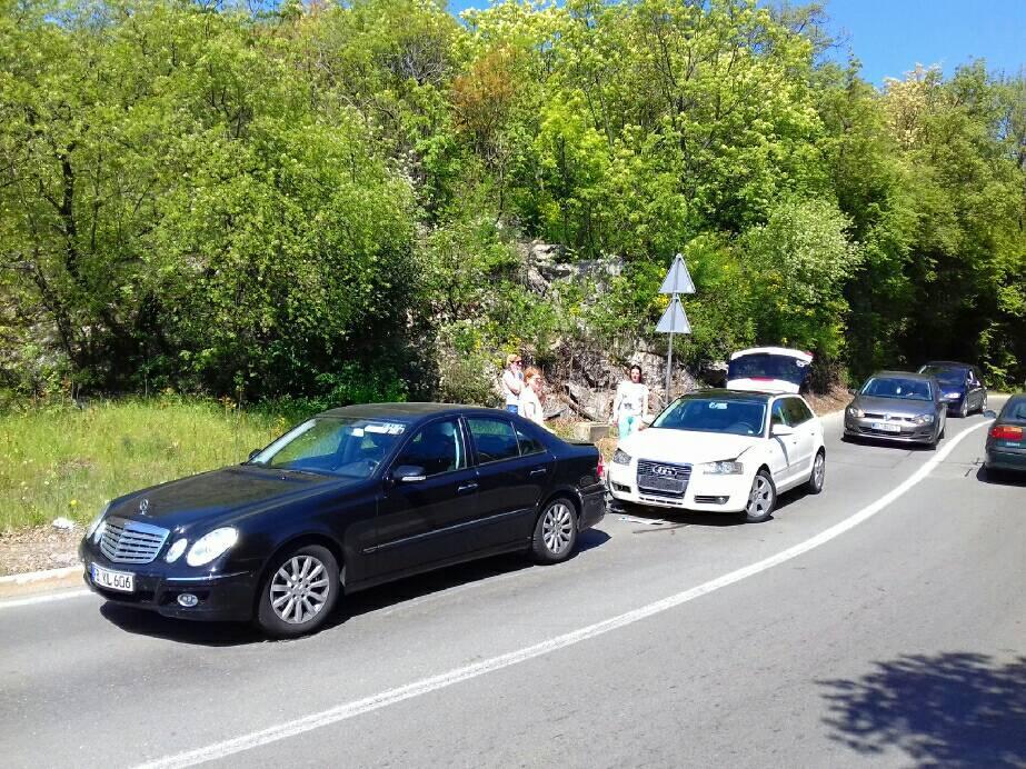 Sudar stranaca na opatijskom opasnom semaforu
