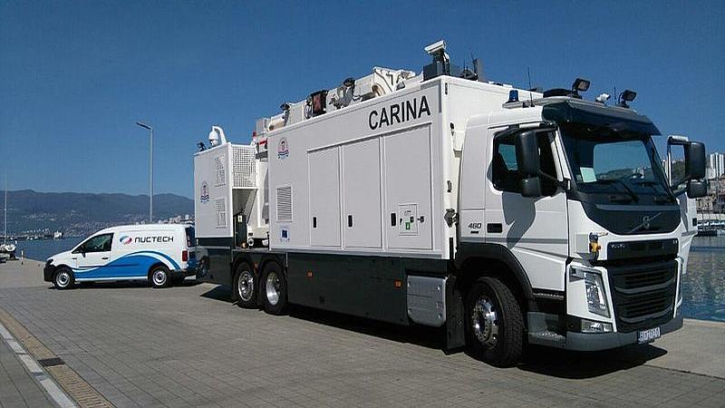 Novi rendgen riječke carine skenira 100 kamiona u jednom satu