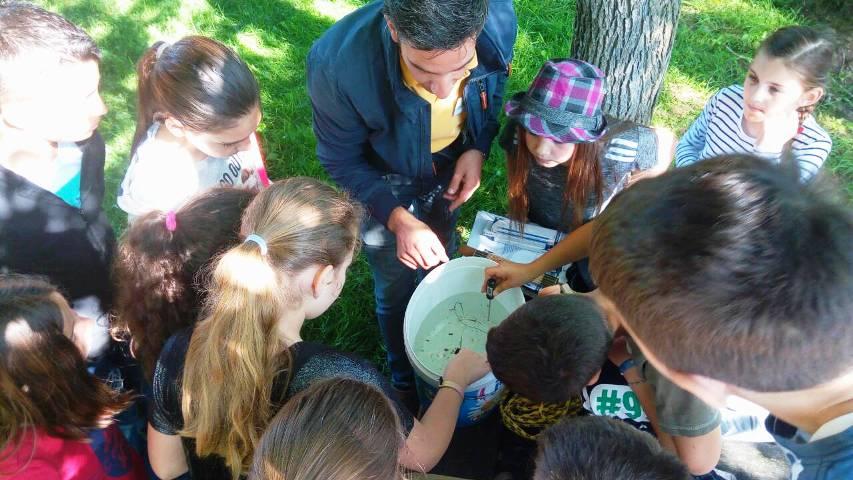 NP Krka, Bioteka: Žedan i gladan laboratorij