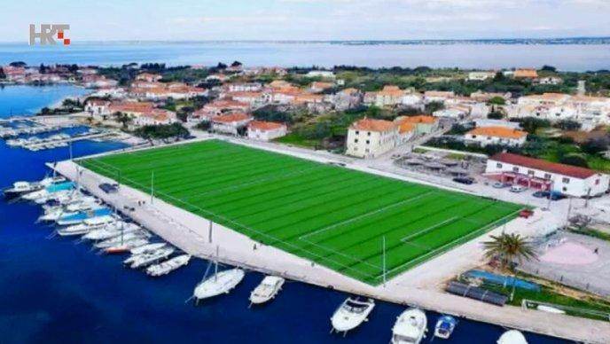 Ugljan dobio stadion – tik uz more