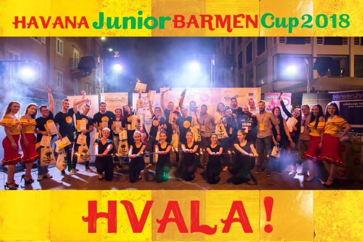 Završilo natjecanja barmena  Havana Junior Barmen Cup 2018.