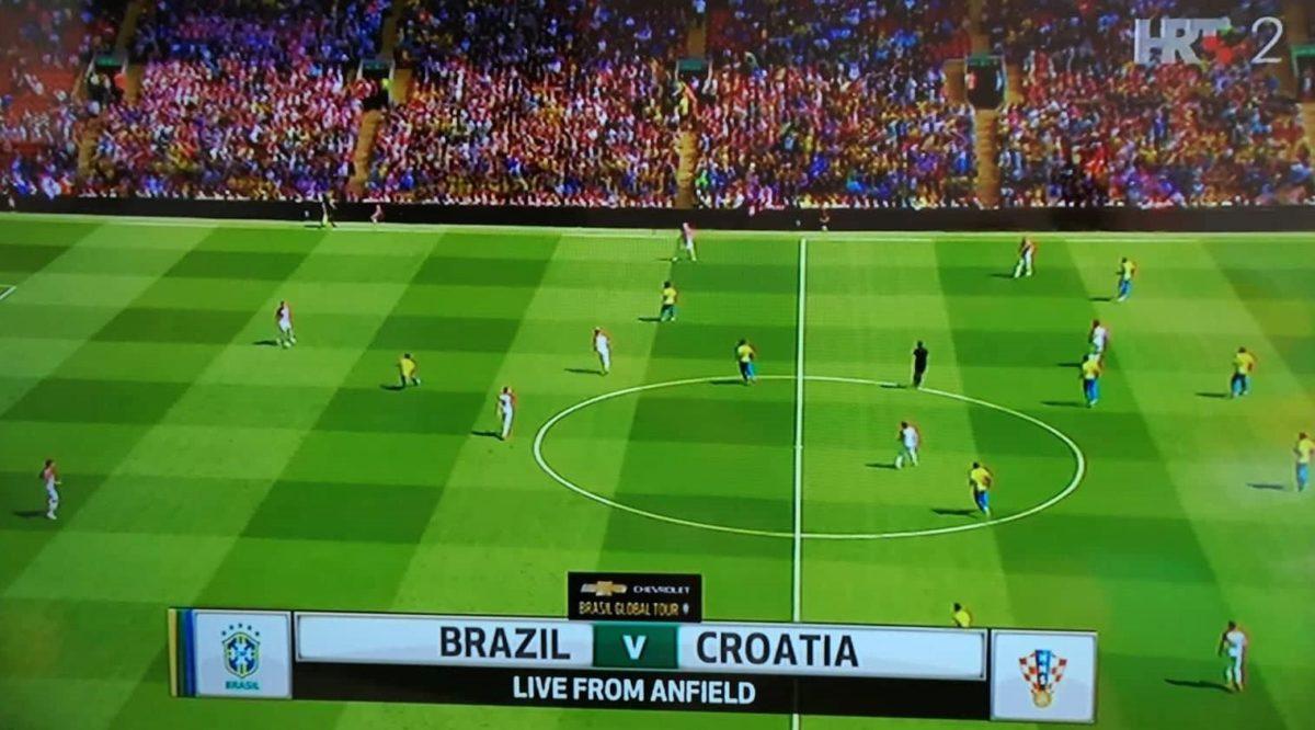 Hrvatska – Brazil 0 : 2