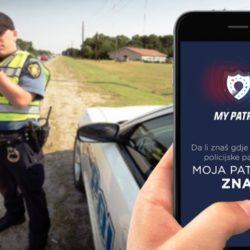 Moja patrola je aplikacija koja upozorava na policiju