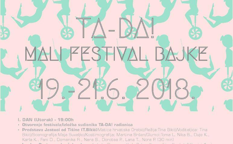 TA-DA! Mali Festival Bajke u Orebiću