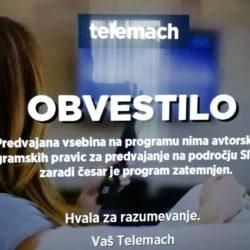 Slovenci blokirali HRT 2