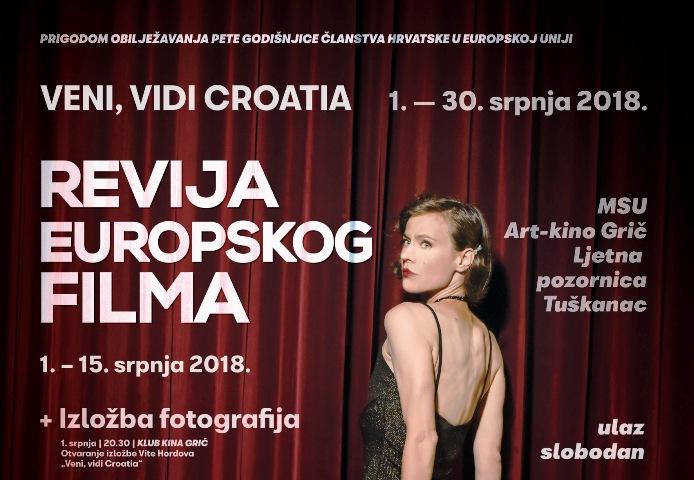 Revija europskog filma na Ljetnoj pozornici Tuškanac