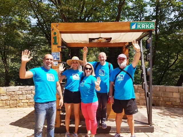 NP Krka, volonteri i Dan stabla