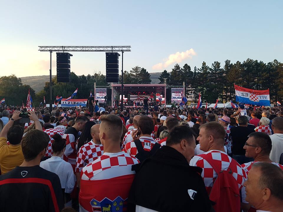 Doček za izbornika Dalića u rodnom Livnu